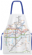London Underground Map 100% Cotton Apron  820mm x 680mm (gwc)